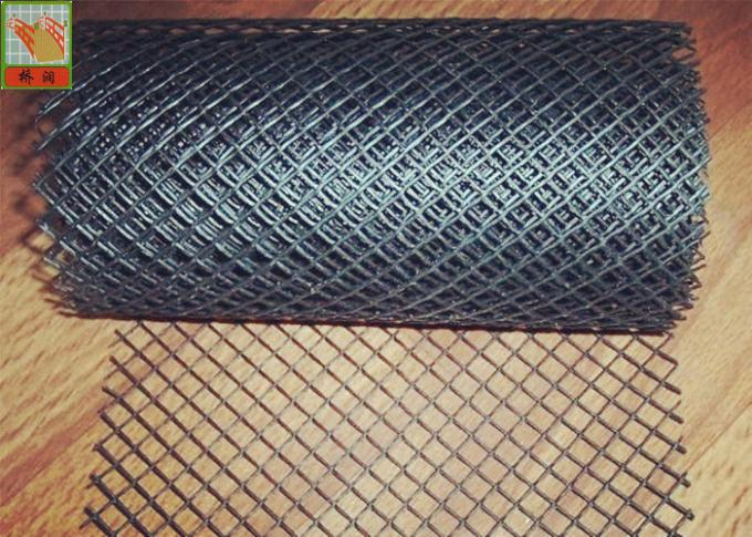 Plastic Gutter Covers Plastic Construction Netting Roll HDPE Materials Diamond Hole