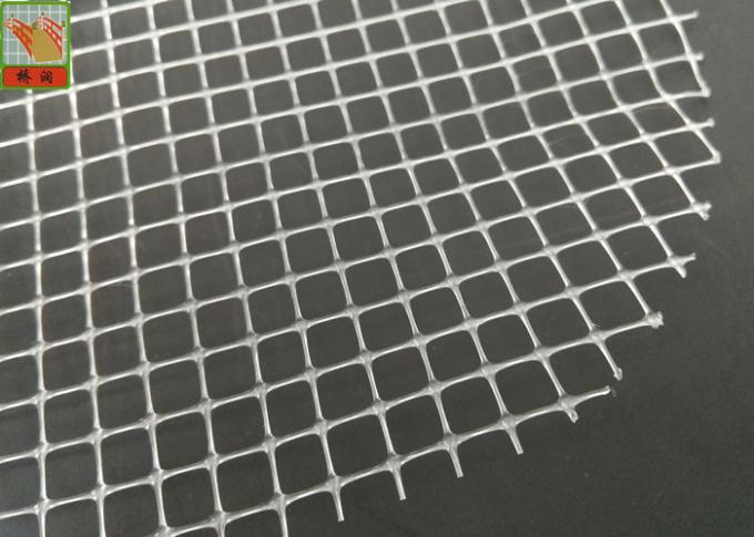 BOP Clear Plastic Mesh Netting For Spring Mattress , Industrial Plastic Mesh