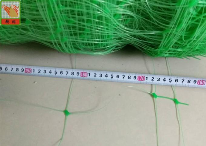 Polyethylene Agricultural Climbing Plant Support Mesh Green Color Lightweight