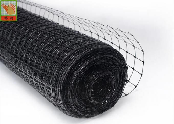 Insulation Mesh Netting Black Color Replacement For Wire Batt Hangers