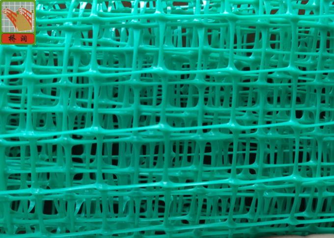 Green Insulation Support Mesh, Plastic Construction Netting,  80 GSM, 3m Width, Antiflaming