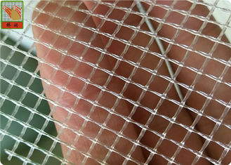 China Square / Diamond Hole Extruded Plastic Netting 100 GSM Polypropylene Material supplier