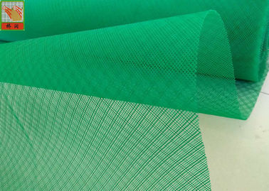 China PE Material  Insect Mesh Netting Roll For Vegetable Gardens Green Color supplier