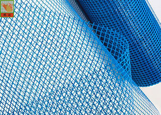 China Plastic Plaster Mesh Netting / Plastic Wire Mesh For Plastering 25 M Long supplier