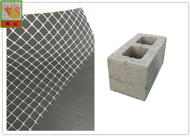 China High Tensile Strength PP Mortar Stop Mesh For Hollow Bricks Customized Color supplier