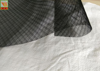 China Black Industrial Plastic Netting HDPE Resin Infusion Netting 1.2 Meters Wide supplier