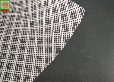 China Plastic Resin Infusion Mesh White Color , HDPE Plastic Diamond Mesh Roll supplier