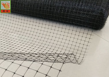 China BOP Anti - Mole Netting / Bird Block Netting Black Color 300 Meters Long supplier