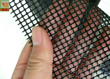 PP Extruded Plastic Screen Mesh 1m Wide , Black Polypropylene Mesh Netting