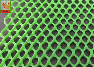 China Heavy Duty Ducklings Breeding Netting , Plastic Poultry Netting , For Henhouse  , 650 GSM , Green Color supplier