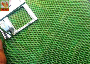 China Green Plastic Window Mesh , Plastic Construction , HDPE Materilas , 12 Mesh , Insect Mesh , 50 Meters Legnth supplier