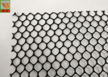 Sheet Diamond 10mm X 10mm Extruded Plastic Netting
