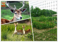 Polypropylene Deer Fence Netting / Black Mesh Deer Fencing UV Protected