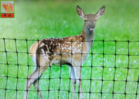 Plastic Mesh Garden Deer Fence Netting , Deer Resistant Netting For Plants