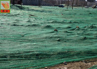 Green HDPE Ground Cover Soil Netting For Environment / Erosion Control 8m Width