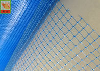 China Bule Plastic Construction Netting Plaster Mesh Anti - Cracking 60g/Sqm factory