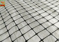 Industrial Plastic Protective Netting Support Mesh 50g/Sqm 500m Length Black Color