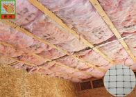 Plastic Netting For Insulation Support , Polypropylene Netting Insulation Mesh