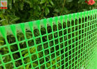 China Plastic Garden Mesh Netting Fence , Garden Protection Netting Green Color factory