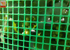 China Green Plastic Garden Fence Mesh , 1m Height Garden Wire Netting Fence factory