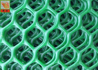 HDPE Extruded Plastic Netting, Plastic Mesh Netting For Poultry Green Color, Green Color, 25 Meters Long