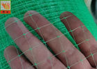 Green Light  Reinforcement Nets , Erosion Control , Polypropylene Oriented Light Nettings For Erosion Control Blankets