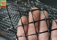 Black Heavy Deer Fence Netting , Deer Fence Netting , PP Materials With UV , 130GSM , 2.1 Meters High