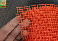Orange Plastic Garden Fence Netting , Garden Mesh Netting , Vegetable Garden Netting , 70 cm High