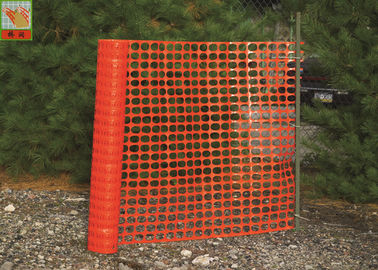 China Temporary Plastic Construction Netting  , HDPE Orange Construction Safety Fence factory